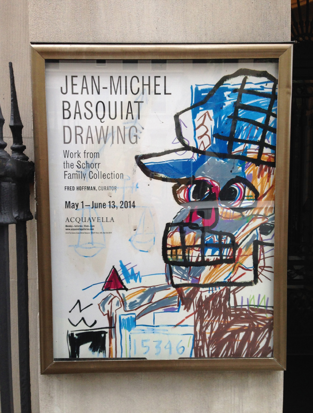 jean michel basquiat drawing work from the schorr family collection